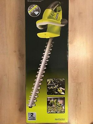 Ryobi RHT5050 Electric Corded Hedge Trimmer, 500W - New, Sealed