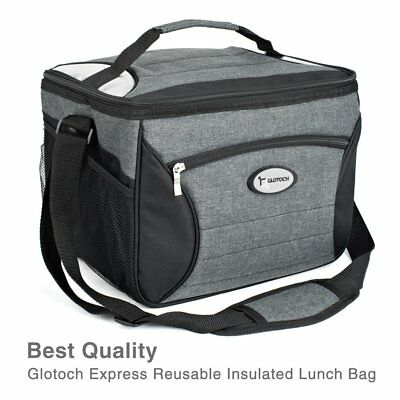 MEAL PREP BAG with Portion Control Containers - Large Insulated ... aa8eedbb015bc