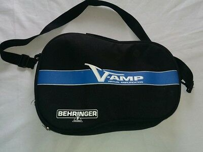 Behringer V-Amp Virtual Amplification and Guitar bass Effects Processor W/Case