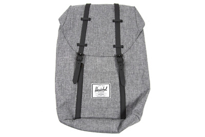 969f33ff8b31 Herschel Supply Co. Retreat Backpack in Raven Crosshatch NWT Free Shipping
