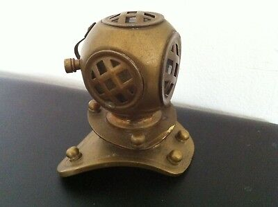 Mini Diving Helmet Solid Brass for Display - well crafted