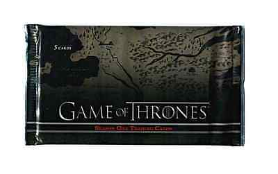 NEW Game of Thrones Season 1 (One) SEALED Trading Card Hobby Pack