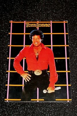 Tom Jones In Concert - Programme - 1983
