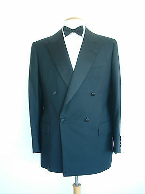 "Savile Row Bespoke Dinner Jacket / Tuxedo By Lewis Ferszt..40""..outstanding"