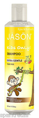 Jason KIDS ONLY Organic All Natural Extra Gentle SHAMPOO 517ml For Children Kids