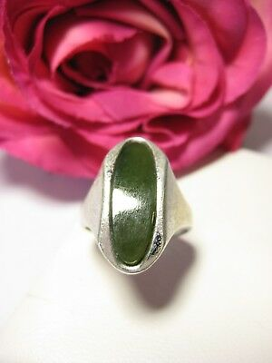 Finger Ring Jade Antique Jewelry 835 Silver Stone Pearls Fashion