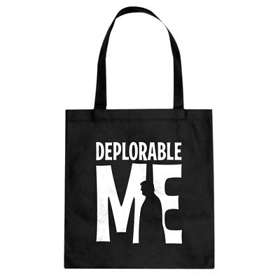 Tote Deplorable Me Canvas Shopping Bag #4000