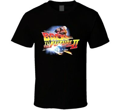 Back To The Future Part 2 Retro 80's Movie T Shirt