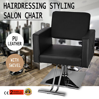 Hydraulic Barber Salon Chair Beauty Leather PU Multiuse Furniture