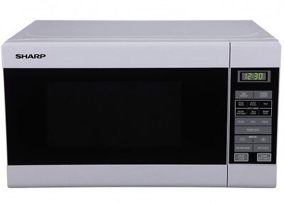 Sharp R210DW Compact 750W Microwave oven White