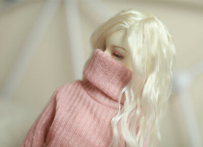 1/4 1/3 BJD sweaters turtleneck for BJD DD SD doll clothes 2 colors doll sweater