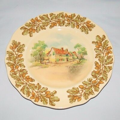 ROYAL DOULTON Old English Inns OVAL bowl The Leather Bottel COBHAM D6072