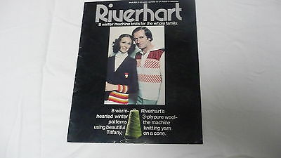 Riverhart 8 Winter Machine Knits for the Whole Family Pattern Book 3 Ply