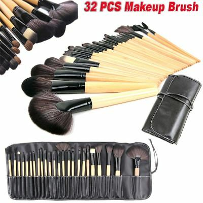 32 Pcs Professional Make Up Brush Set Foundation Brushes Kabuki Makeup Brushes
