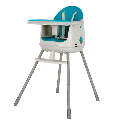 High Chair Baby Feeding Easy Feed Dining 3 in 1 CURVER High Quality
