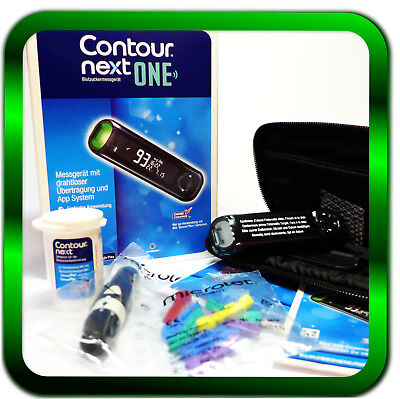CONTOUR NEXT ONE Set Blutzuckermessgerät mg/dL Bayer -Super Angebot