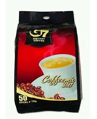 [G7] 3-in-1 Instant Coffeemix 16g x 50 Sachets Trung Nguyen Vietnamese Coffee