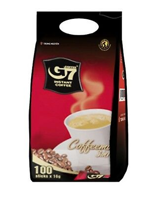 [G7] 3-in-1 Instant Coffeemix 16g x 100 Sticks Trung Nguyen Vietnamese Coffee