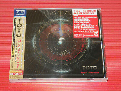 2018 JAPAN ONLY BLU-SPEC CD TOTO 40 Trips Around The Sun Greatest Hits