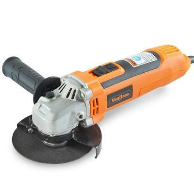 Industrial 650W Angle Grinder Wheel Disc 6 Speed Variable Safety Guard Handle