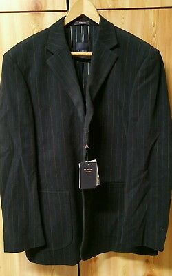 "RARE & Authentic "" V E DELURE ""  Luxury Suit Sports Coat Jacket BNWT Size 52"