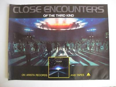 "Close Encounters Of The Third Kind 1977 Arista 29"" x 22"""