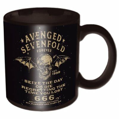 Avenged Sevenfold Seize The Day Black Mug Deluxe Boxed Gift Official Merchandise