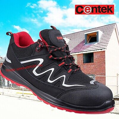 Centek Steel Toe Cap Trainer Style Safety shoes FS312 Full sizes UK 6-12