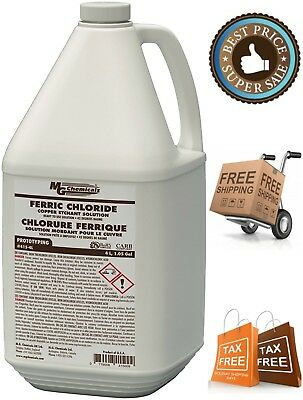 MG Chemicals Ferric Chloride Liquid Copper Etchant Solution Dark Brown