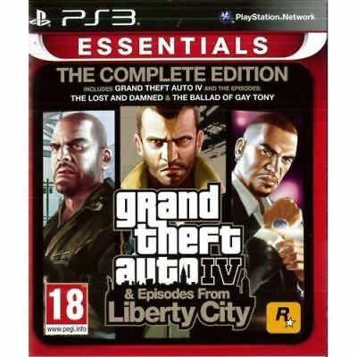 Grand Theft Auto IV Complete Edition PS3 New and Sealed