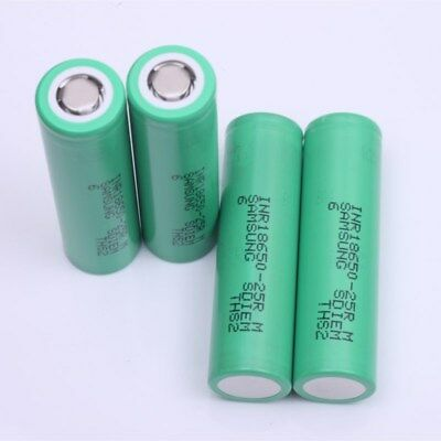 Samsung INR18650-25R 2500mAh 20A Rechargeable Battery for SMOKTech Vape Mods