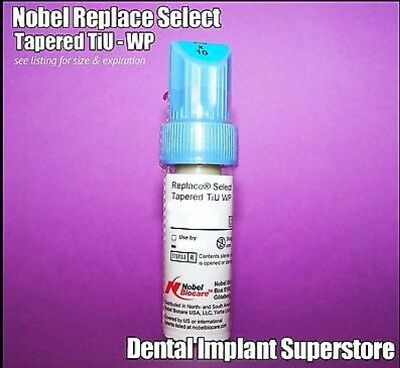 Nobel Biocare Replace - Select Tapered TiU NP - 3.5 x 13mm - Exp. 2020 - 02