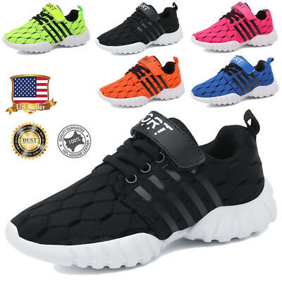 Kids Childs Breathable Sneakers Boys Girls Running Casual Sport Shoes Hot Sale
