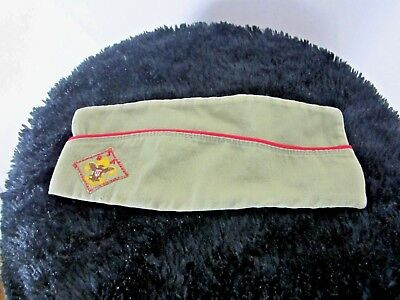 Vintage Boy Scouts Of America Official Envelope Cap Hat Medium BSA