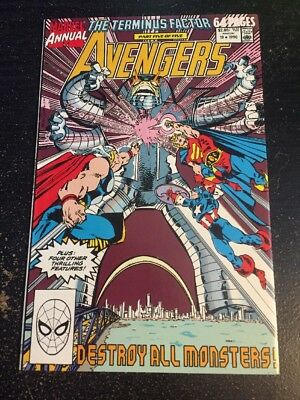 "Avengers Annual#19 Incredible Condition 8.5(1990) ""Terminus Factor Stage 5"""