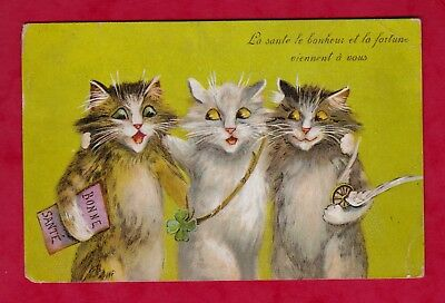 Carte Postale Old Postcard Cat CPA CHATS de MAURICE BOULANGER - cats 1905