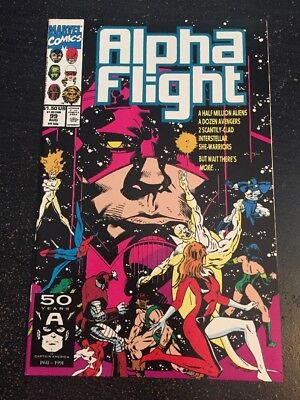 Alpha Flight#99 Incredible Condition 9.4(1994) Galactus,Micheal Blair Art!!