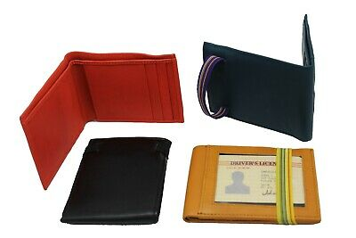 Closeout deal of 100 Leather Bi-fold Ti-fold Wallet Lizard,Ostrich Texture style