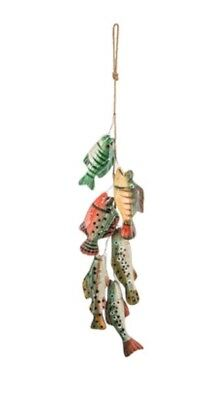 Stringer Full of Fish Wall Decor Cabin and Lake house Man Cave Fisherman's Decor