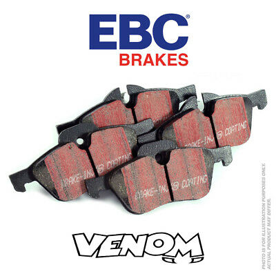 EBC Ultimax Rear Brake Pads for Mercedes Shooting X117 CLA200D 2.1TD 136 DPX2157