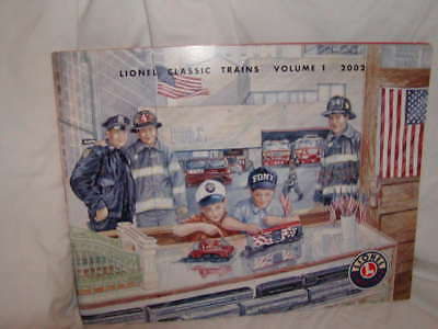 Lionel Classic Trains Volume 1 Catalog 2002 Complete 108 Pages New Excellent