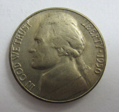 1950 D Jefferson Nickel -- Key Date -- Free Shipping *