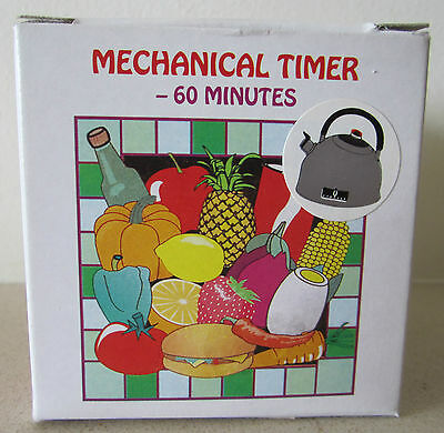 Kettle shaped 60 minute kitchen timer.  Brand New