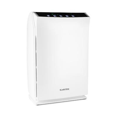 White Air Purifier Room Clean Ioniser  Hepa Filter Aroma Office Home Remote