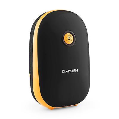 Klarstein Air Dehumidifier Small Portable Home Ventilate Damp Bathrooms Black