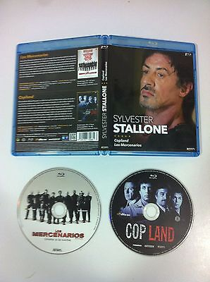 SYLVESTER STALLONE blu-ray - LES MERCENAIRES + COPLAND - 2 BR - EXPENDABLES