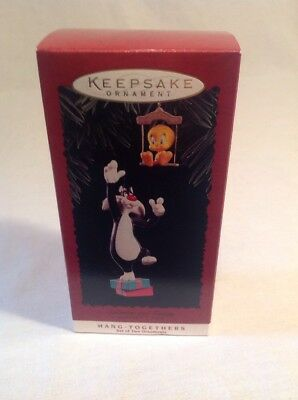 Hallmark Keepsakes Hang Together Ornament Sylvester Tweety Warner Bros