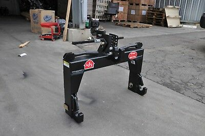 3-Point Tractor Quick Hitch Category CAT 1  Farm Implement W/Bushings & Bracket