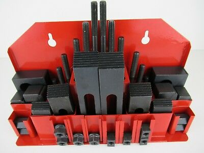 MicroMark 42 Piece Workholding Clamping Set for Microlux R8 Milling Machine