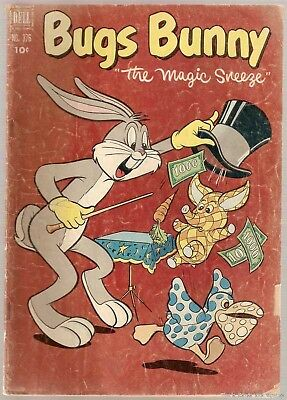 Four Color (1942 series) #376 Dell Comics 1952 Bugs Bunny FR/GD